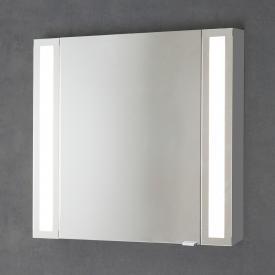 Sprinz Silver-Line Aufputz Spiegelschrank Modell-Nr. 01 Korpus aluminium matt, ohne Hintergrundbeleuchtung