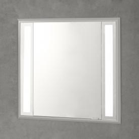 Sprinz Silver-Line Unterputz Spiegelschrank mit LED-Beleuchtung mit 1 Tür Anschlag links, ohne Hintergrundbeleuchtung