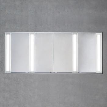 Sprinz Silver-Line Unterputz Spiegelschrank Modell-Nr. 08 ohne Hintergrundbeleuchtung