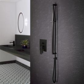 Steinberg Brausegarnitur schwarz matt