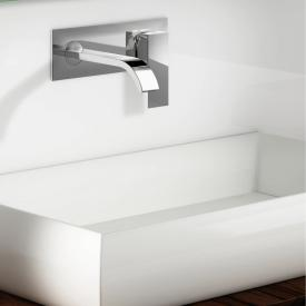 Steinberg Serie 135 Waschtisch-Einhebelmischer für Wandmontage Ausladung: 175 mm