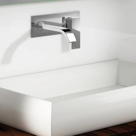 Steinberg Serie 135 Waschtisch-Einhebelmischer für Wandmontage Ausladung: 200 mm