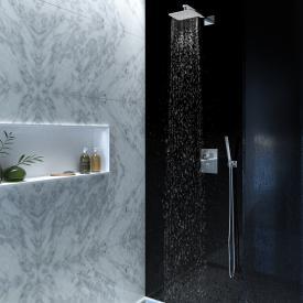 Steinberg Serie 160 Dusch-Set mit Unterputzthermostat und Kopfbrause
