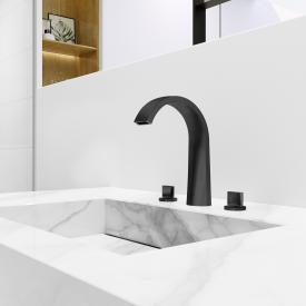 Steinberg Serie 280 3-Loch Waschtisch-Armatur schwarz matt