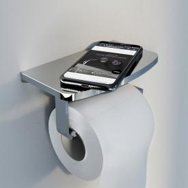 Steinberg Serie 450 Toilettenpapierhalter mit Ablage chrom