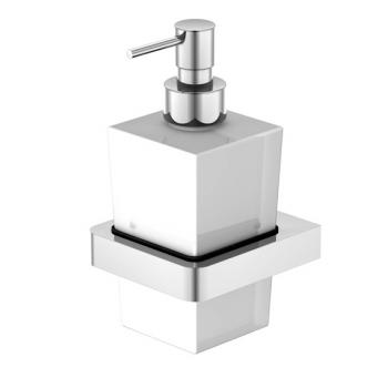 Steinberg 420 Wand-Seifenspender weiß satiniert