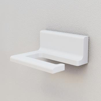 Steinberg Serie 430 Toilettenpapierhalter weiß