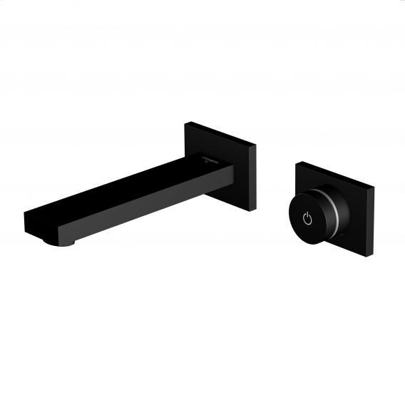 Steinberg iFlow vollelektronische Wand-Waschtisch-Armatur schwarz matt