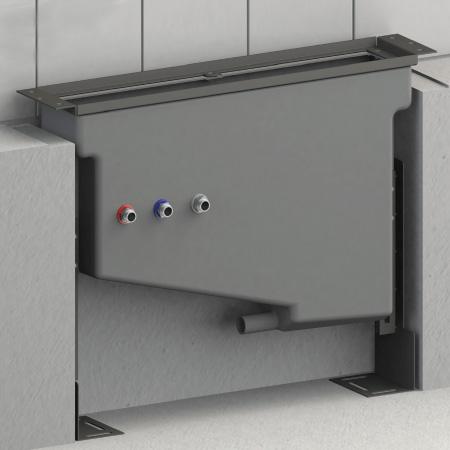 Steinberg Steintec Montagegestell mit Montageplatten, für Wannenrandarmaturen