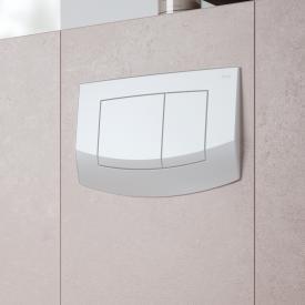 TECE ambia WC-Betätigungsplatte für 2-Mengen-Technik weiß