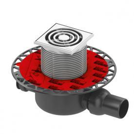 TECE drainpoint S 120 Ablaufset Norm mit Seal System Universalflansch