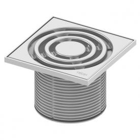 TECE drainpoint S Rostrahmen Kunststoff inkl. Designrost L: 14,2 B: 14,2 cm
