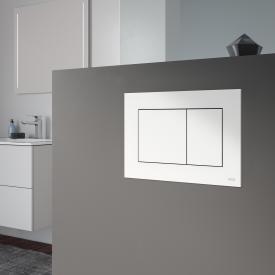 TECE now WC-Betätigungsplatte für Zweimengentechnik weiß