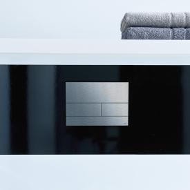 TECE square II Metall WC-Betätigungsplatte für 2-Mengen-Technik edelstahl gebürstet