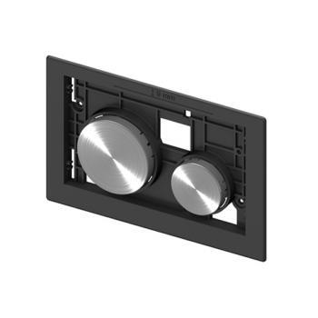 TECE loop Baukasten Betätigungseinheit für 2-Mengen-Technik edelstahl rundgebürstet