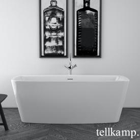 Tellkamp Arte Freistehende Rechteck-Badewanne weiß glanz