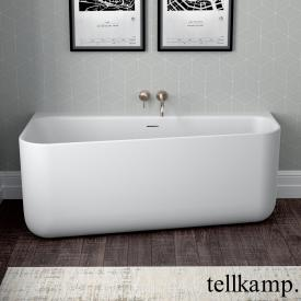 Tellkamp Koeko R Raumspar-Badewanne, Ausführung rechts weiß matt, ohne Füllfunktion