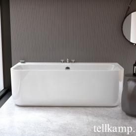 Tellkamp Koeno Badewanne weiß glanz, mit Füllfunktion über Überlauf