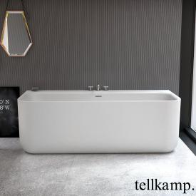 Tellkamp Koeno Vorwand-Badewanne mit Verkleidung weiß matt, ohne Füllfunktion