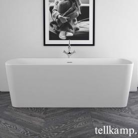 Tellkamp Komod Freistehende Rechteck-Badewanne weiß matt, ohne Füllfunktion