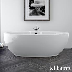 Tellkamp Orbital freistehende Oval Badewanne weiß glanz, ohne Füllfunktion