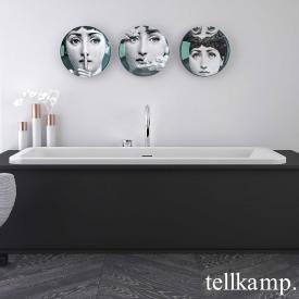 Tellkamp Pura Fix Rechteck-Badewanne, Einbau weiß glanz, ohne Füllfunktion