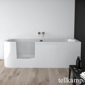 Tellkamp Salida Rechteck-Badewanne mit Tür weiß glanz, ohne Füllfunktion