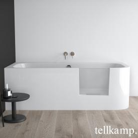Tellkamp Salida R Rechteck Badewannen mit Tür rechts weiß glanz
