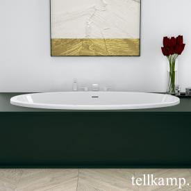Tellkamp Space Fix Oval Badewanne weiß glanz