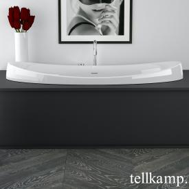 Tellkamp Spirit Fix Oval-Badewanne, Einbau weiß glanz, ohne Füllfunktion