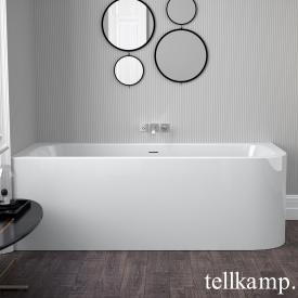 Tellkamp Thela Eck-Badewanne weiß glanz, ohne Füllfunktion