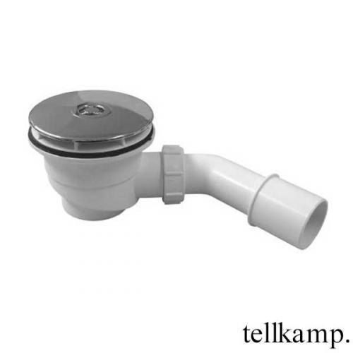 Tellkamp Aquazone Ablaufgarnitur inkl. Abdeckung für Duschwannen, Komplett-Set