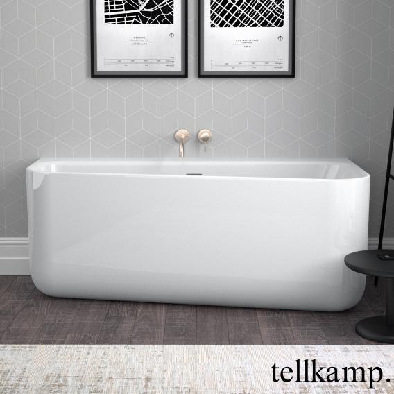 Tellkamp Koeko L Raumspar-Badewanne, Ausführung links weiß glanz