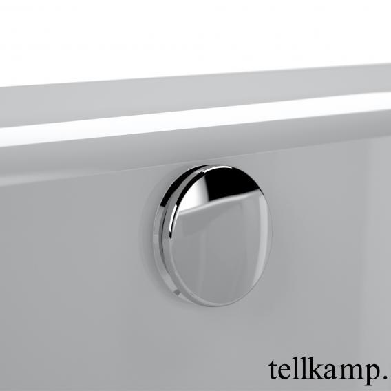 Tellkamp Salida Raumspar-Badewanne mit Duschzone und Verkleidung weiß glanz, ohne Füllfunktion