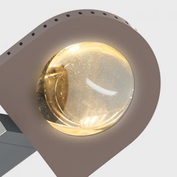 Top Light Glas beidseitig für Leuchte Light Finger