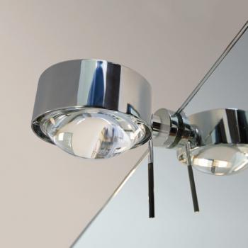 Top Light Puk Fix + Spiegel-Schraubklemmleuchte ohne Zubehör