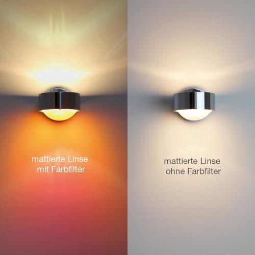 Top Light Linse einseitig mattiert für Leuchte Puk, Lens und Light Finger