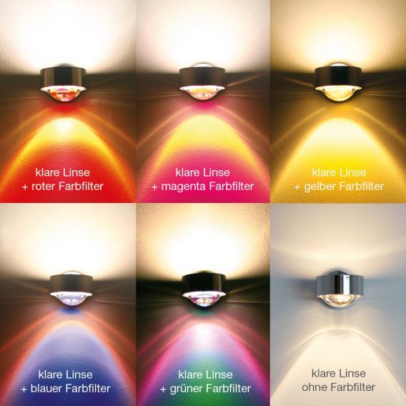Top Light Puk Wall Wandleuchte ohne Zubehör
