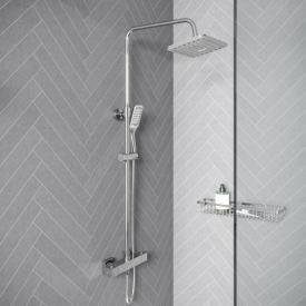 Treos Serie 176 Thermostat-Duschsystem, für Wandmontage