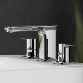 Treos Serie 193 3-Loch-Waschtischbatterie mit Ablaufgarnitur