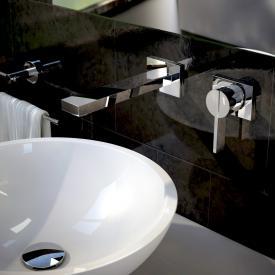 Treos Serie 195 2-Loch-Wand-Waschtischarmatur Ausladung: 200 mm