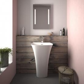 Treos Serie 730 Mineralguss Design Stand-Waschtisch