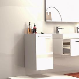 Treos Serie 900 Wandschrank mit 1 Tür Front weiß / Korpus weiß