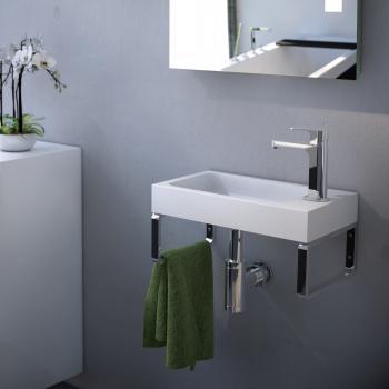 Treos Serie 710 Handwaschbecken mit Wandkonsole