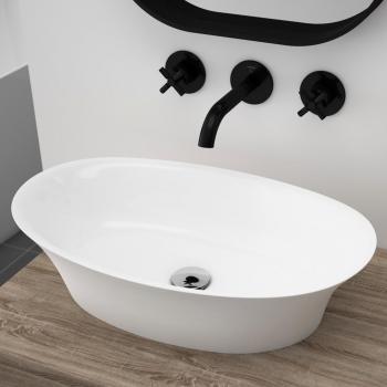 Treos Serie 730 Aufsatzwaschtisch weiß