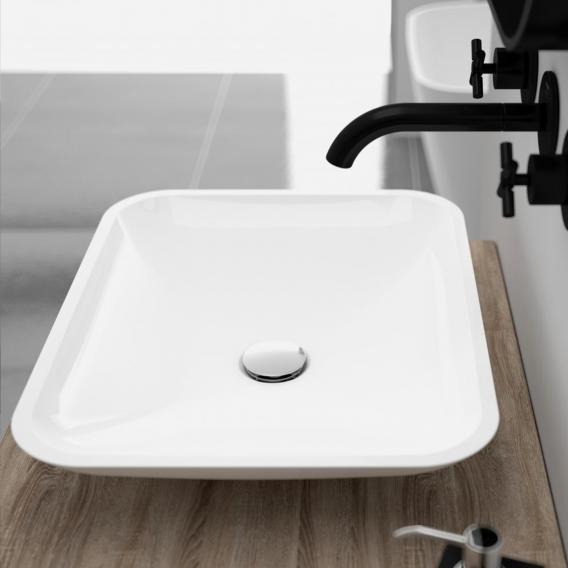 Treos Serie 710 Aufsatzwaschtisch weiß