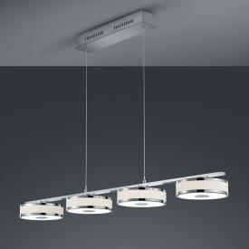 TRIO Agento LED Pendelleuchte mit Dimmer, 4-flammig