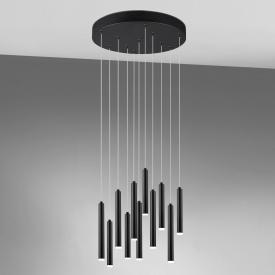 TRIO Tubular LED Pendelleuchte mit Dimmer, rund
