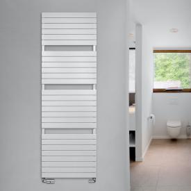 Vasco Aster Badheizkörper für Warmwasser- oder Mischbetrieb weiß, 1440 Watt, doppellagig
