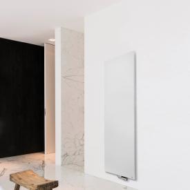 Vasco Niva Designheizkörper für Warmwasserbetrieb feinstruktur weiß, einlagig, 985 Watt